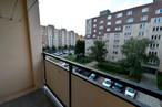 Výhled z balkónu z pokoje