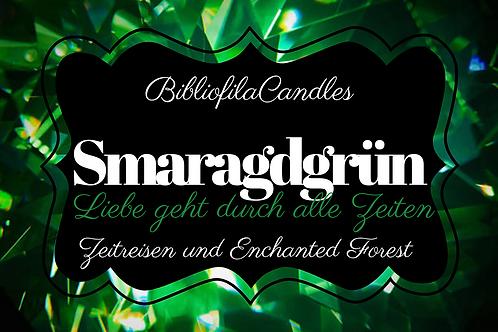 Smaragdgrün | Edelsteintrilogie inspirierte Kerze