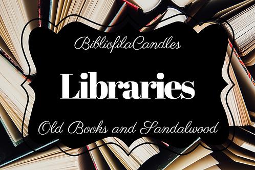 Libraries | Generally Bookish Kerze