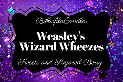 Weasley's Wizard Wheezes | Harry Potter inspirierte Kerze