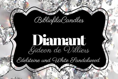 Diamant | Edelsteintrilogie inspirierte Kerze