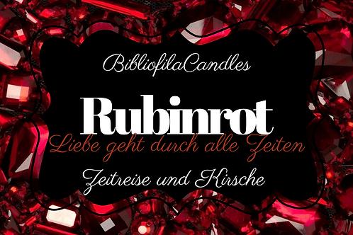 Rubinrot | Edelsteintrilogie inspirierte Kerze