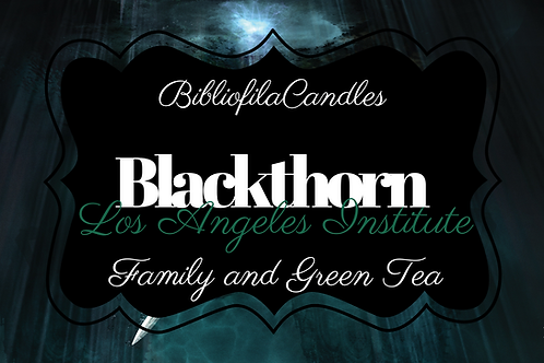 Blackthorn | Shadowhunters inspirierte Kerze