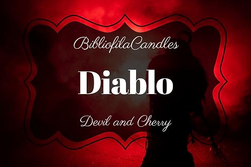 Diablo | Diablo inspirierte Kerze