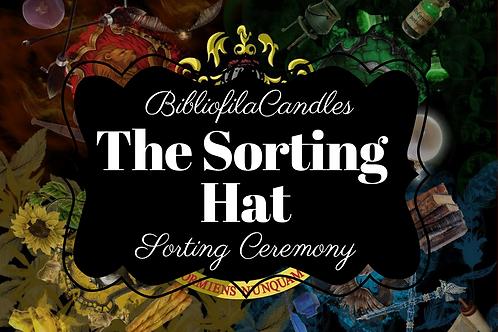 The Sorting Hat | Harry Potter inspirierte Kerze