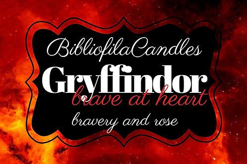 Gryffindor | Harry Potter inspirierte Kerze
