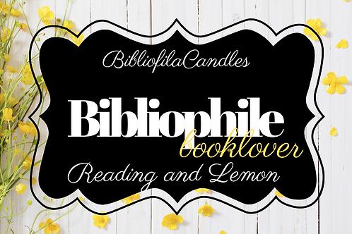 Bibliophile | Generally Bookish Kerze