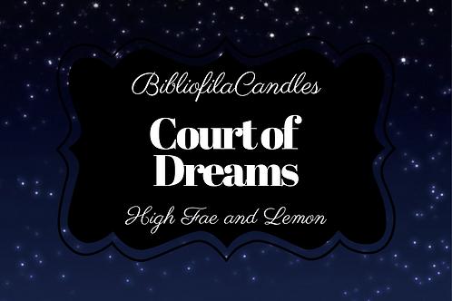 Court of Dreams | ACOTAR inspirierte Kerze