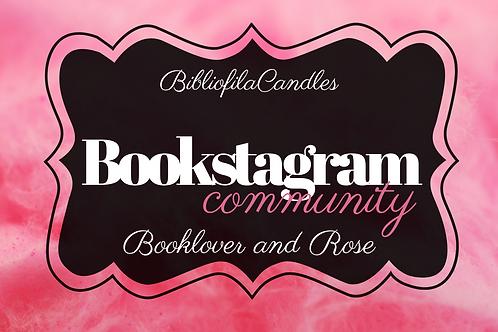 Bookstagram | Generally Bookish Kerze