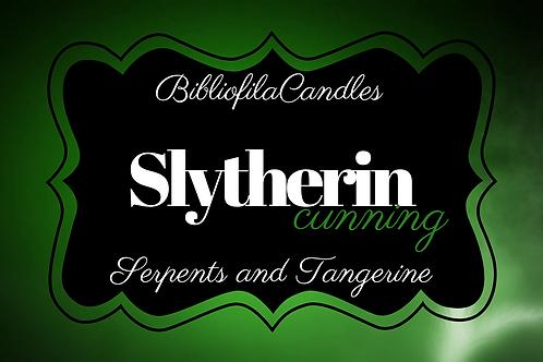 Slytherin | Harry Potter inspirierte Kerze