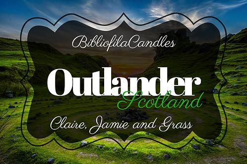 Outlander | Outlander inspirierte Kerze