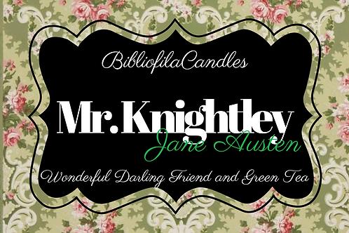 Mr. Knightley | Emma inspirierte Kerze