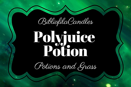 Polyjuice Potion | Harry Potter inspirierte Kerze
