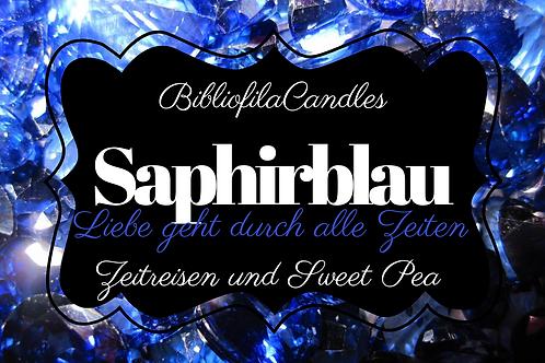 Saphirblau | Edelsteintrilogie inspirierte Kerze