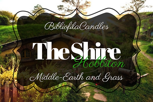 The Shire | Herr der Ringe inspirierte Kerze