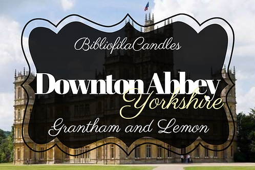 Downton Abbey | Downton Abby inspirierte Kerze