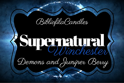 Supernatural | Supernatural inspirierte Kerze