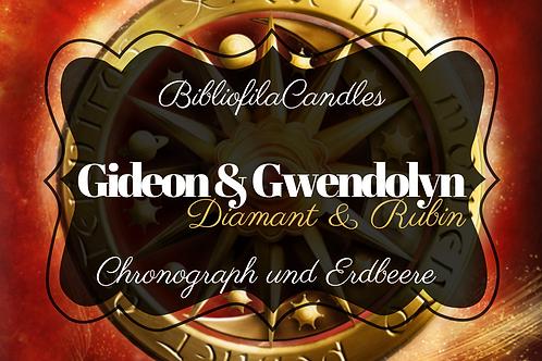 Gideon & Gwendolyn | Edelsteintrilogie inspirierte Kerze