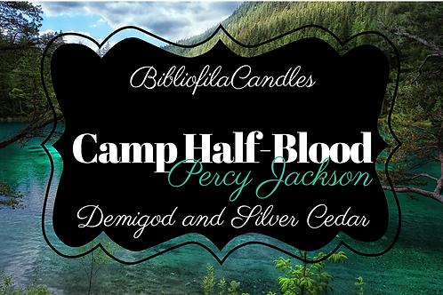 Camp Half-Blood | Percy Jackson inspirierte Kerze