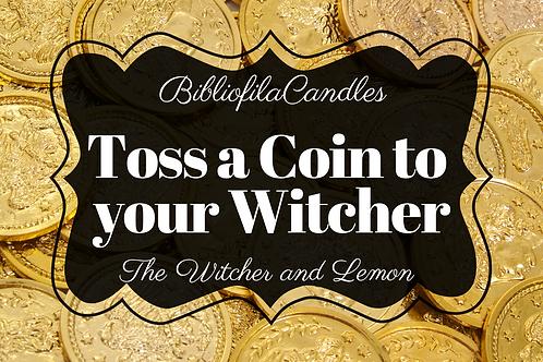 Toss a Coin | Gaming inspirierte Kerze