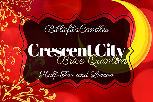 Crescent City | Crescent City inspirierte Kerze