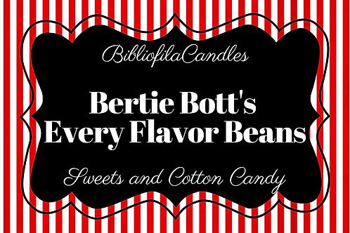 Bertie Bott's Every Flavor Beans | Harry Potter inspirierte Kerze