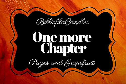 One more Chapter | Generally Bookish Kerze