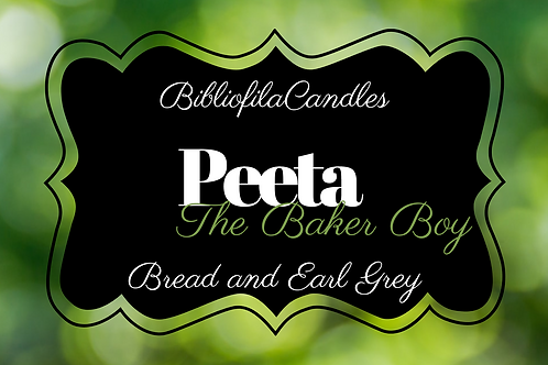 Peeta | Hunger Games inspirierte Kerze