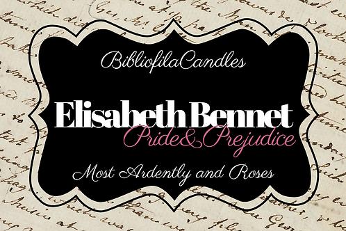 Elisabeth Bennet | Pride and Prejudice inspirierte Kerze