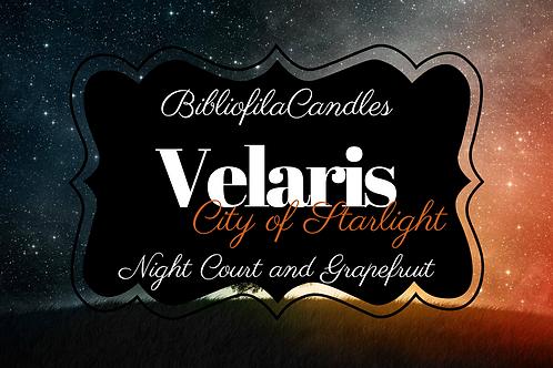 Velaris   ACOTAR inspirierte Kerze