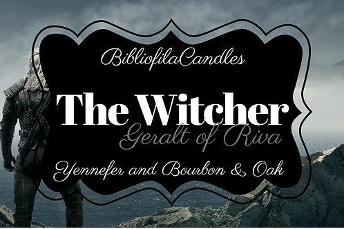 The Witcher   Gaming inspirierte Kerze
