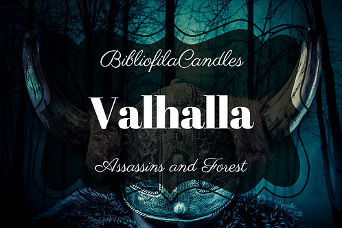 Valhalla | Assassins Creed inspirierte Kerze