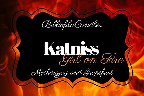 Katniss | Hunger Games inspirierte Kerze