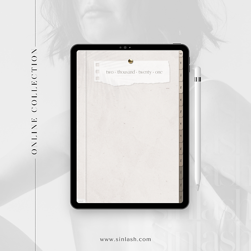 Nude Minimalist Digital Planner