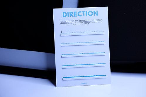 Direction Sheet