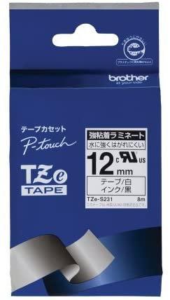 ブラザー TZeテープ ラミネートテープ12mm