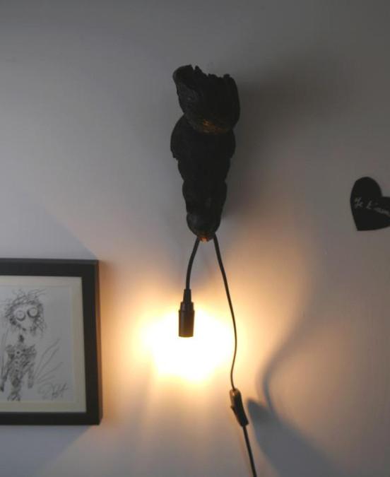 RISU, lampe design d'écureuil par Nuuy Design