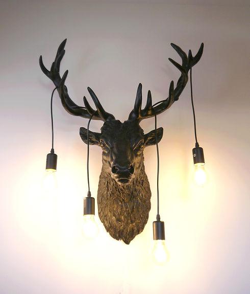 Lampe de cerf design par Nuuy Design