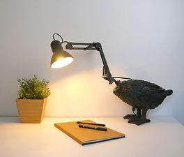 Kitsune, luminaire sauvage de canard conçu par Nuuy Design