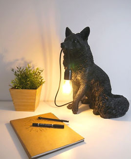 Kitsune, luminaire sauvage de renard conçu par Nuuy Design
