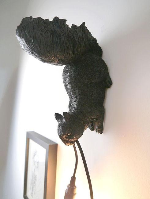 Lampes d'écureil design par Nuuy Design