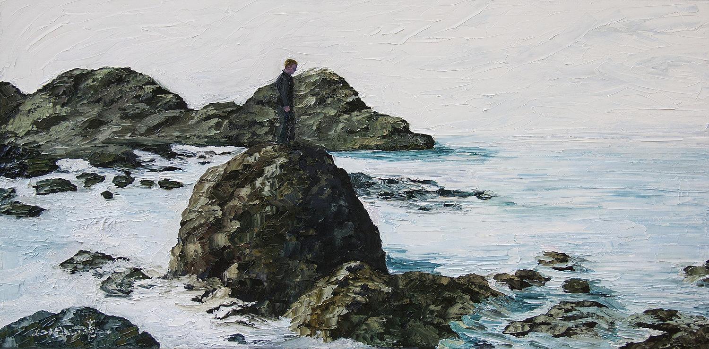 Sean On The Rocks