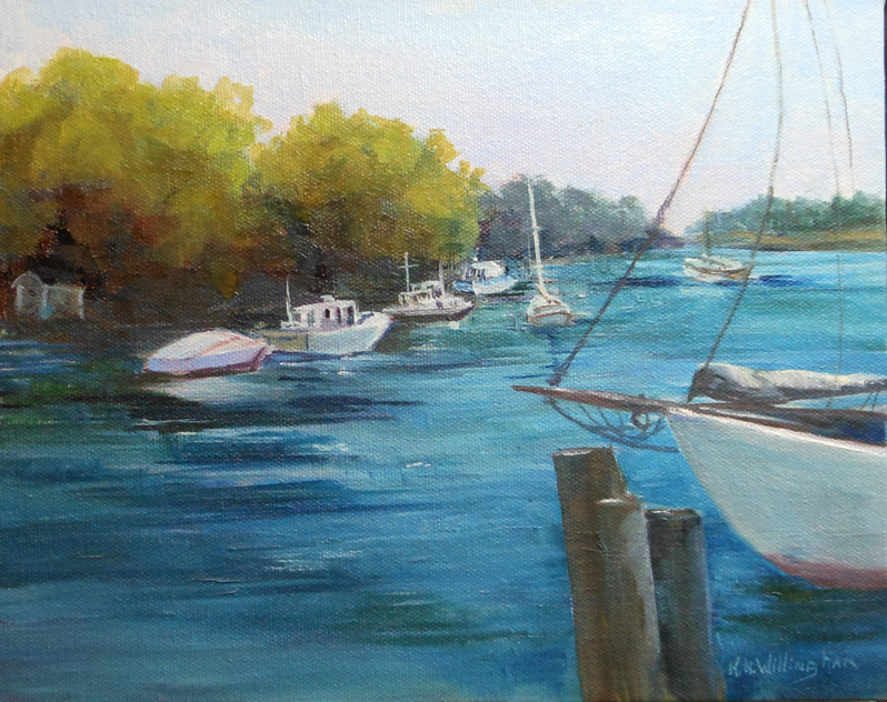 Harbor View, Maine-K. Willingham