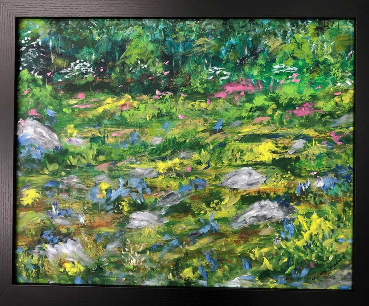 """Shenandoah Spring"", by Norma Woodward"