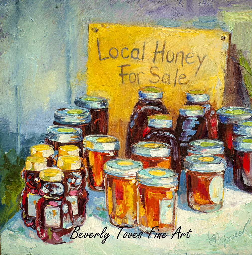 """Local Honey,"" by Beverly Toves."