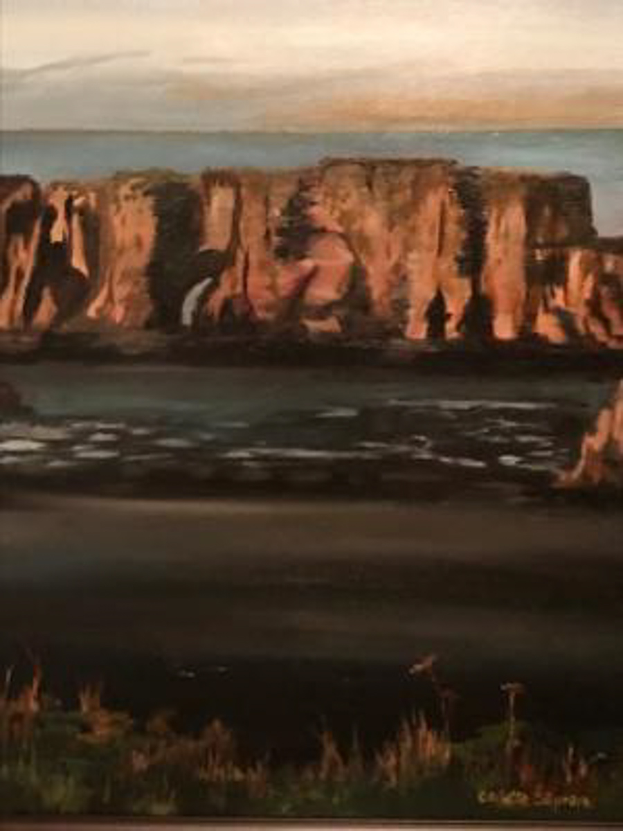 """Oregon Coast"" by Collette Caprara"