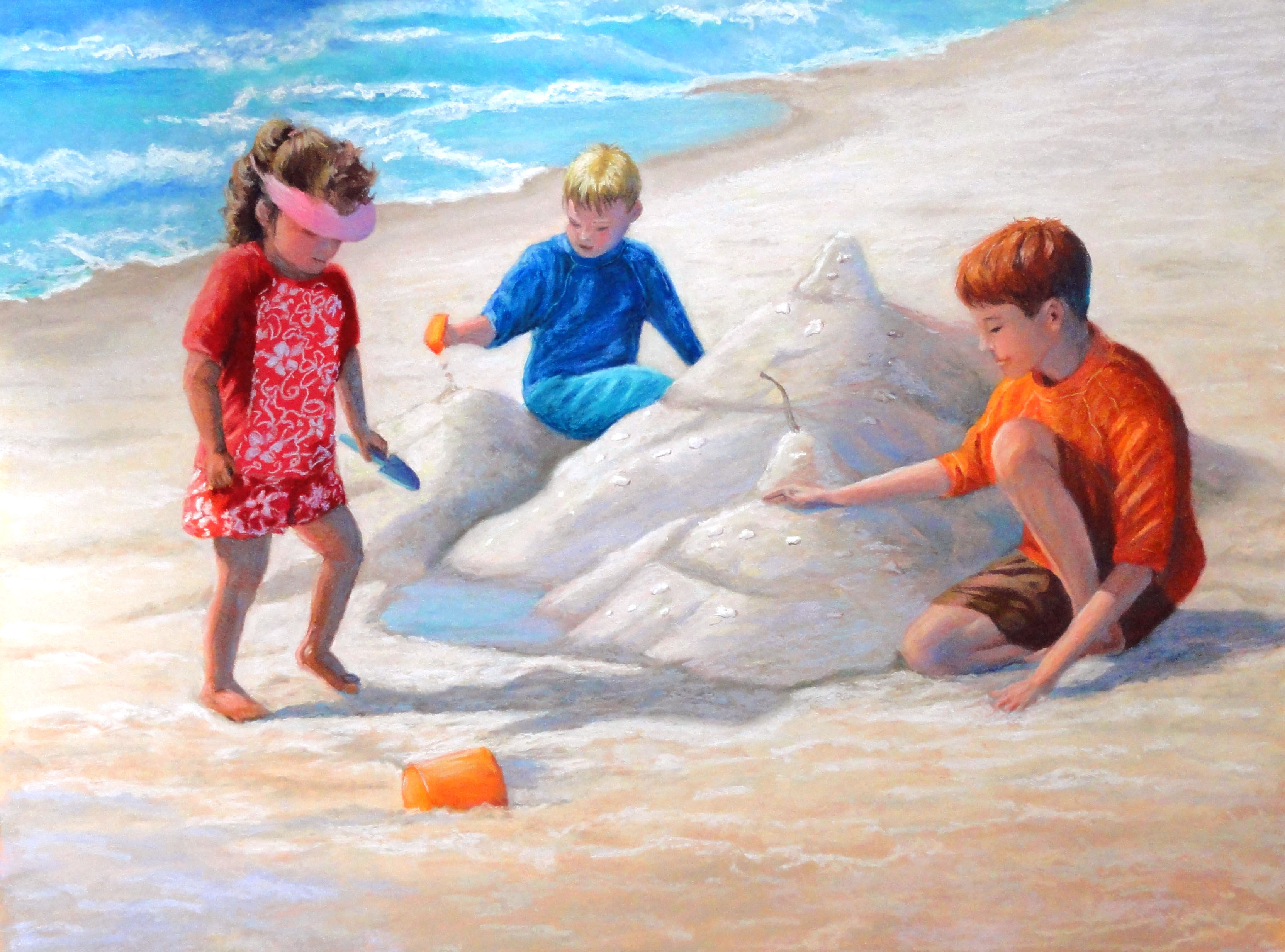 Sand Castles Natural, K. Waltermire