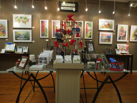 Find a 'Merry Little Christmas' or a 'Happy Holiday' at Brush Strokes!