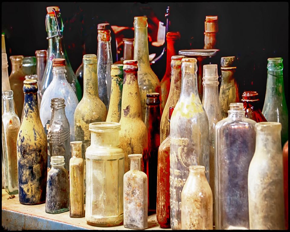 Bottles, Norma Woodward