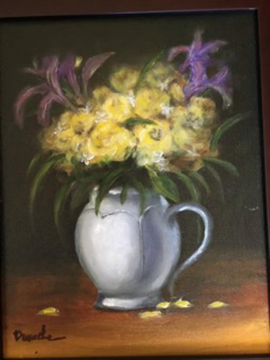 """Flowers"" by Denise Denecke"